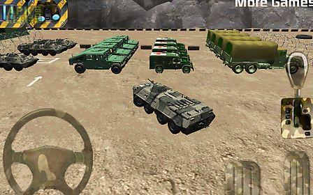 parking 3d - army parking war