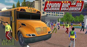 School bus driver 2016