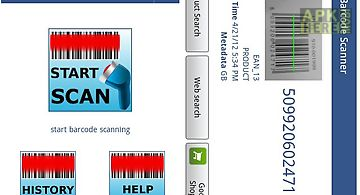 Start barcode scanner