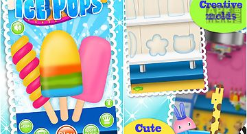Ice pops maker salon