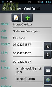 Business Card Storage For Android Free Download At Apk Here Store