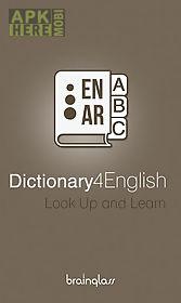 dictionary 4 english - arabic