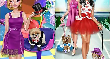 Pet show contest: beauty salon