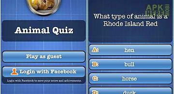 Animal quiz free