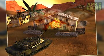 Battle field tank simulator 3d