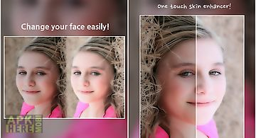 Warp my face: fun photo editor for Android free download at