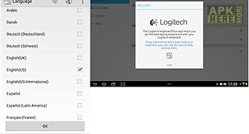 Logitech keyboard plus