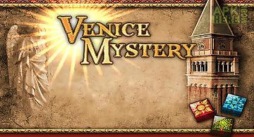 Mahjong: venice mystery. puzzle