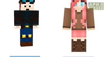 Skins - for minecraft pe & pc