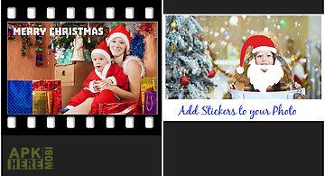 Xmas photo collage