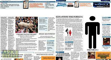 Crea prima pagina giornale