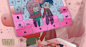 Cute chibi keyboard