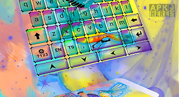 Keyboard color power