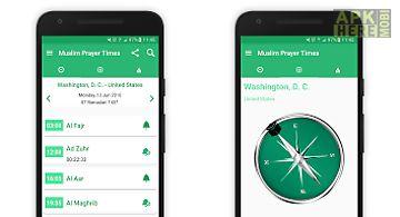 Muslim quran prayer times