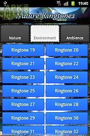 ringtones and sounds of nature