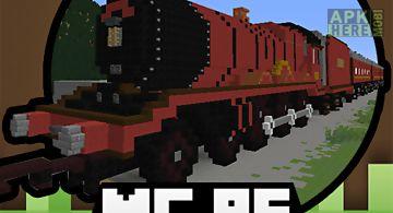 Train mods for minecraftpe