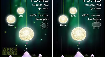 Tree light go locker theme