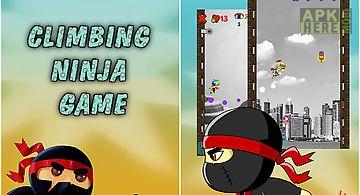 Climbing ninja game