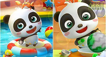 Talking baby panda - kids game