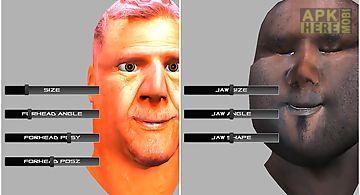 Warp my talking face: 3d head