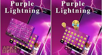 Purplelightning kika keyboard