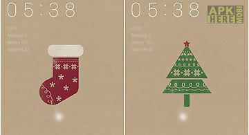 Simple xmas dodol locker theme