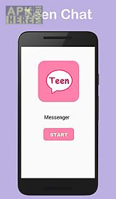 teen messenger and chat