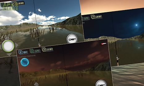 virtual bass fishing 3d