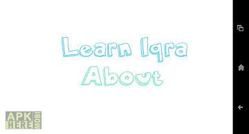 Learn iqra basics