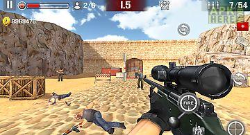 Sniper shoot fire war
