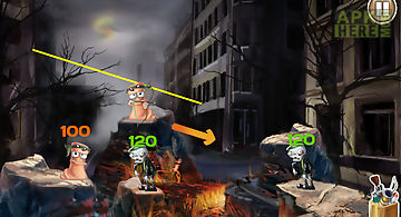 Worms vs zombies