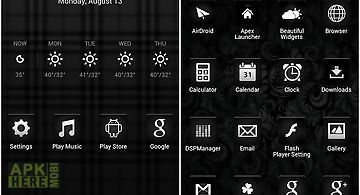 Black - icon pack