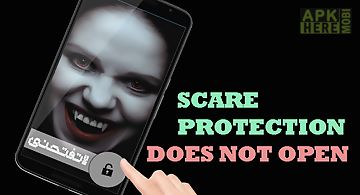 Scary phone touch protection