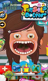 tonsils doctor - kids game