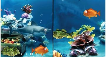 Crazy fish  free Live Wallpaper