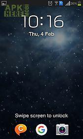 snowfall night live wallpaper