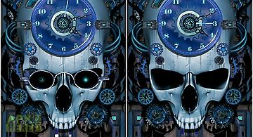 Steampunk clock Live Wallpaper
