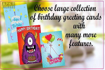Birthday greeting cardmaker for android free download at apk here birthday greeting cardmaker m4hsunfo