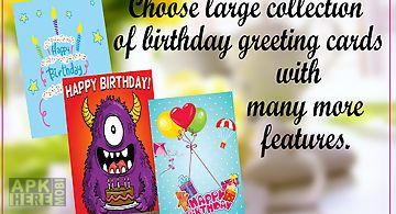 Birthday greeting cardmaker