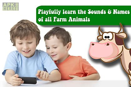 farm animals puzzle kids free