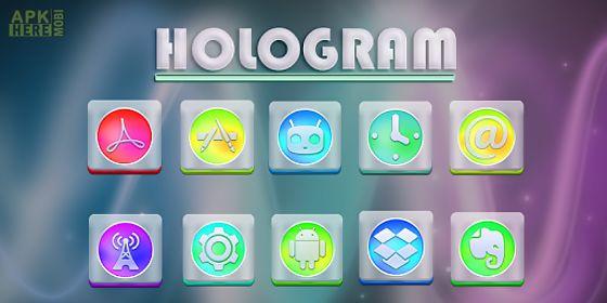 hologram - solo theme