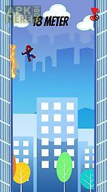 spider jump man. jumping spider