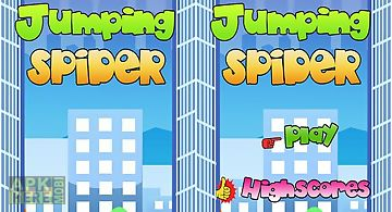Spider jump man. jumping spider