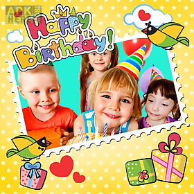 animated birthday frames