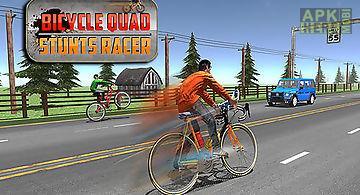 Bicycle quad stunts racer