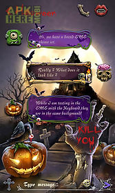 free-go sms halloween pumpkin