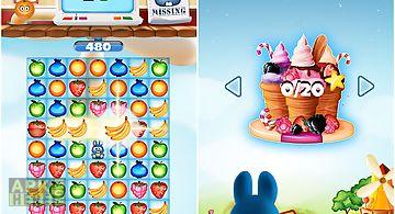 Fruit pop match 3 puzzle games