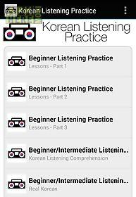korean listening practice