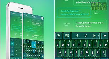 Touchpal fun technology theme