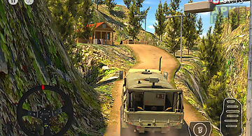 Army truck driver : offroad